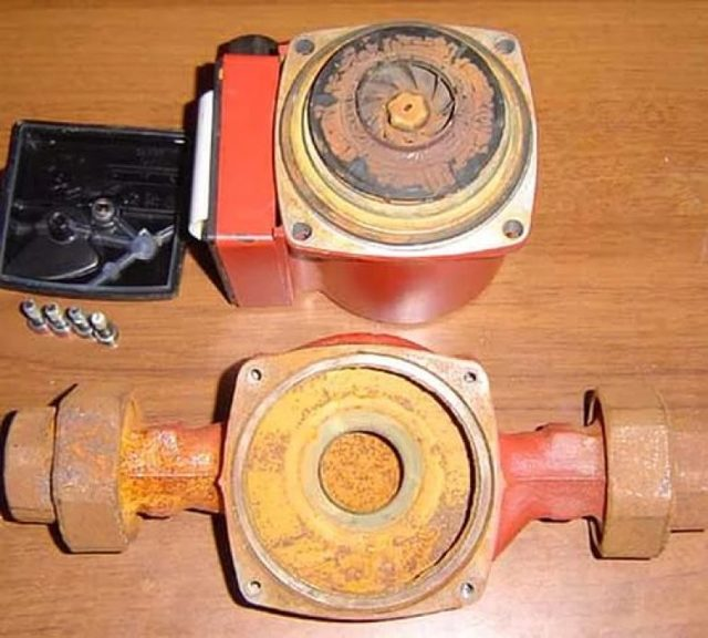 Ремонт циркуляционного насоса для отопления, шумит, как разобрать и другие неисправности