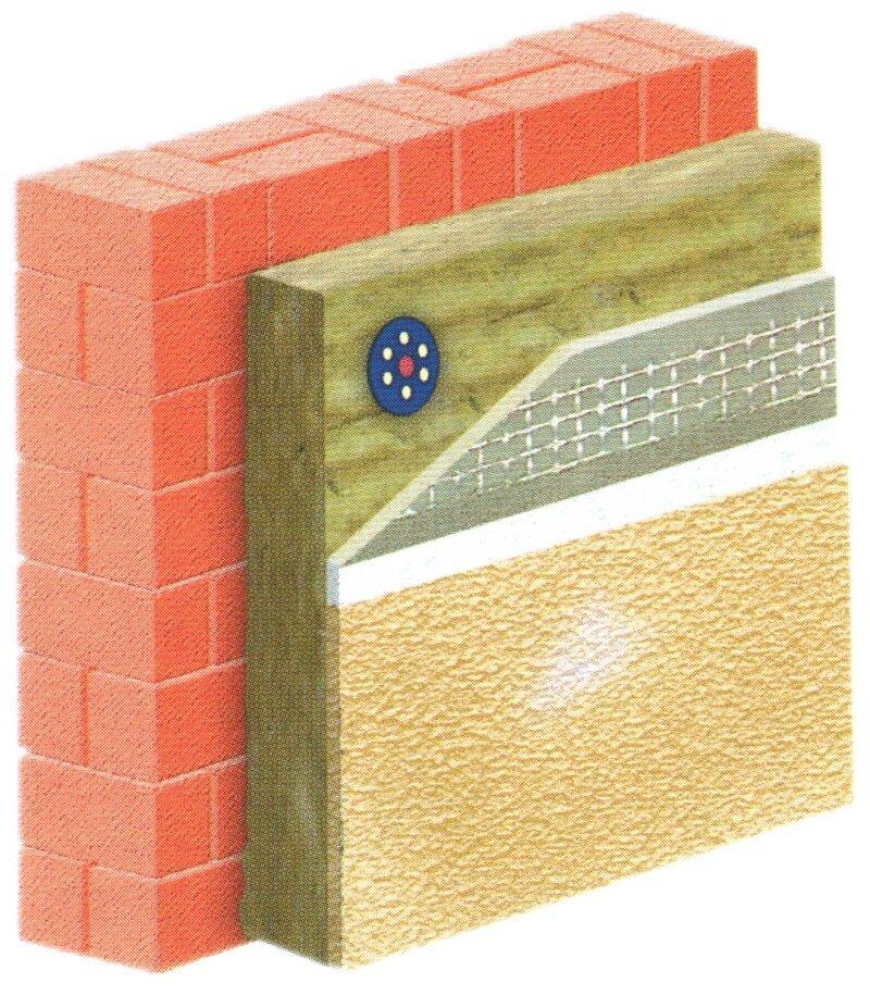 Особенности системы «мокрый фасад» и технология монтажа