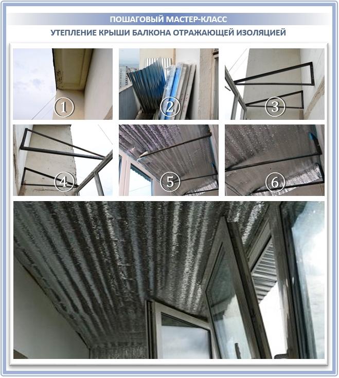 Крыша на балконе: типы конструкций и советы по установке
