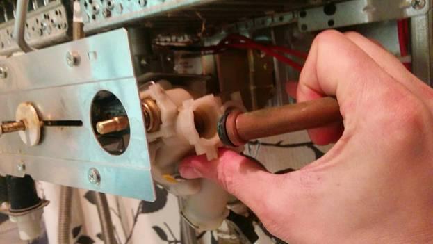 Чистка газовой колонки своими руками