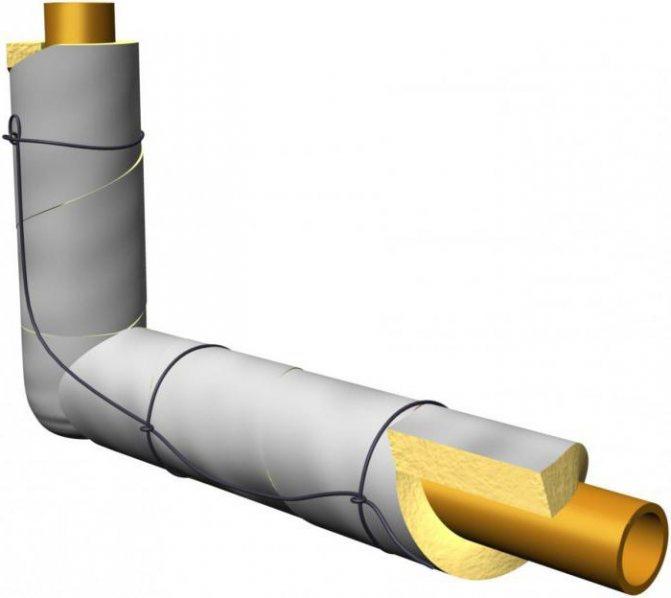 Как правильно подобрать утеплитель для труб отопления