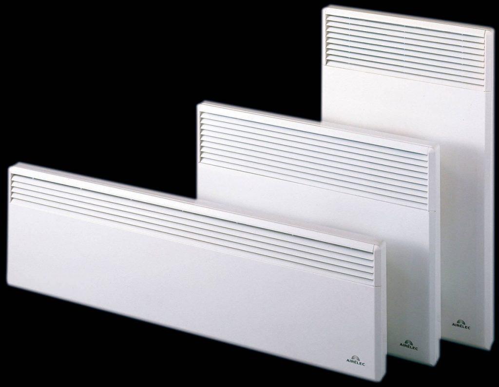Электрические конвекторы отопления для дачи - настенные, экономичные