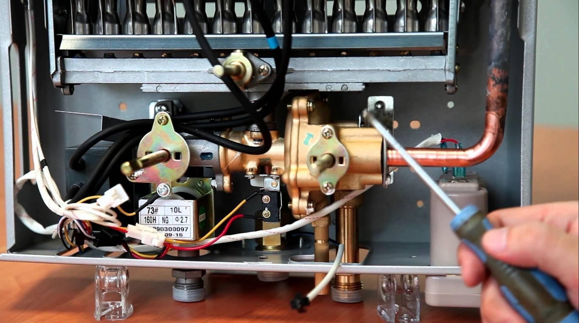 Почему отключается газовая колонка - причины, методы исправления, как предотвратить поломку