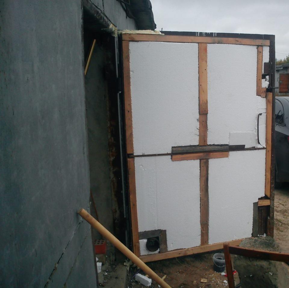 Утепление и мелкий ремонт гаражных ворот