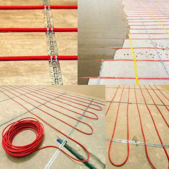 Выбор, установка и подключение кабельного теплого пола