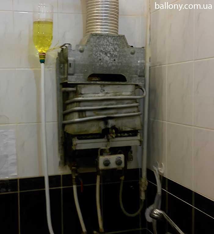 Как почистить газовую колонку от накипи: инструкция