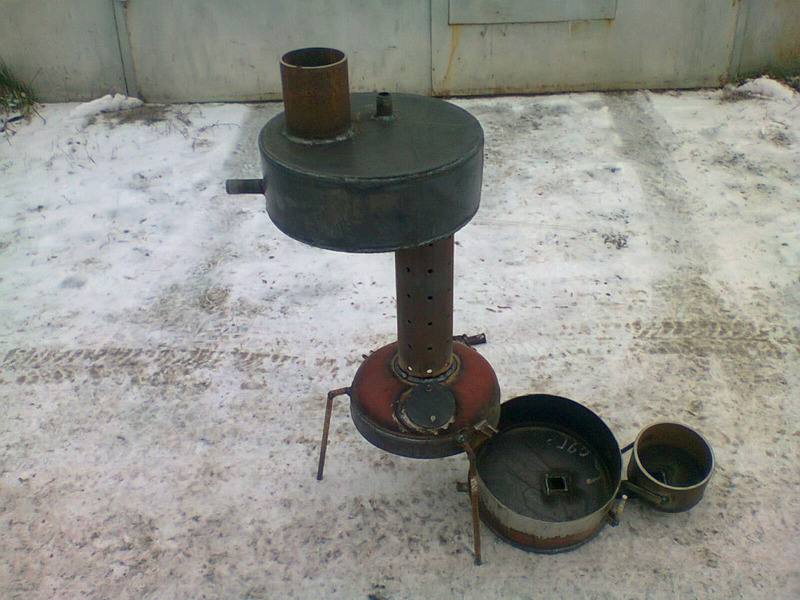 Автономная чудо-печь на солярке для обогрева помещений и гаража