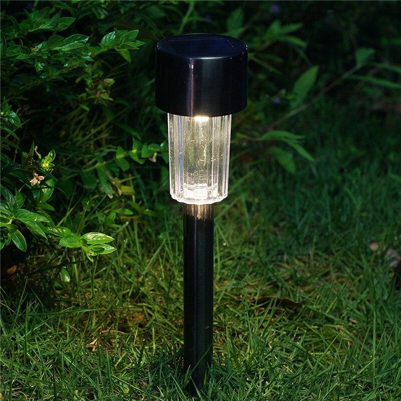 Светильники на солнечных батареях для подсветки сада и участка