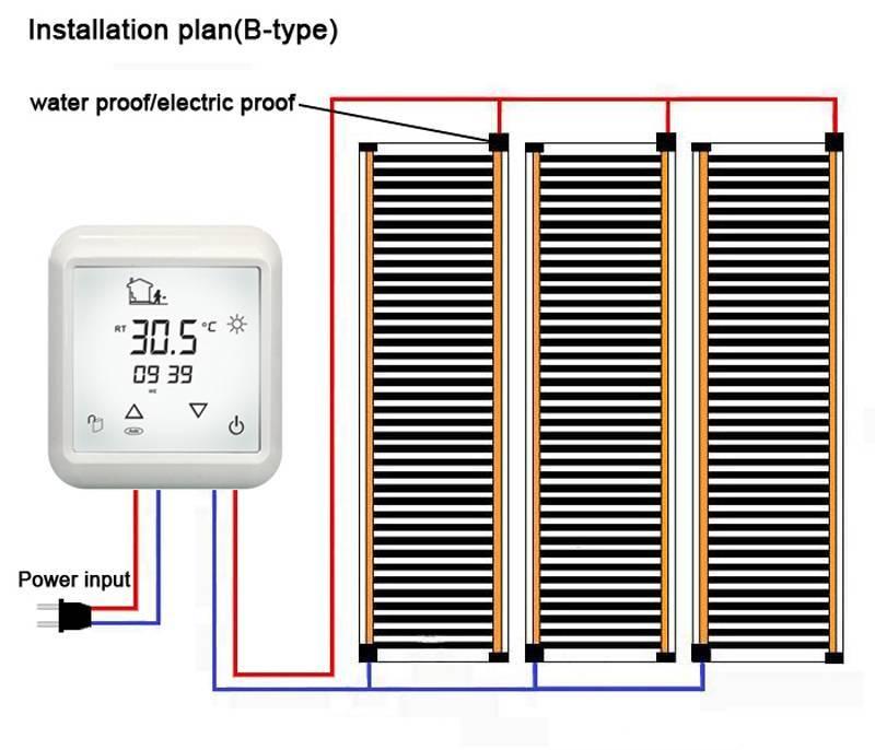 Сколько электроэнергии потребляет теплый пол — расчет