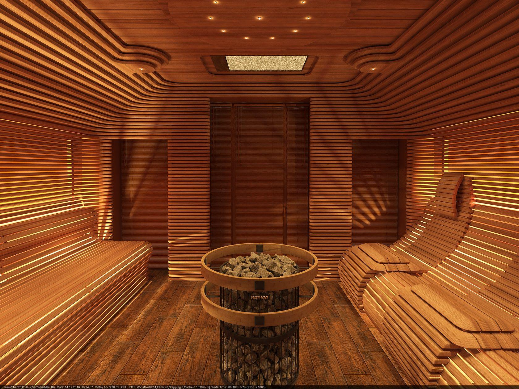 Красивые бани из бруса - 5 лучших проектов!