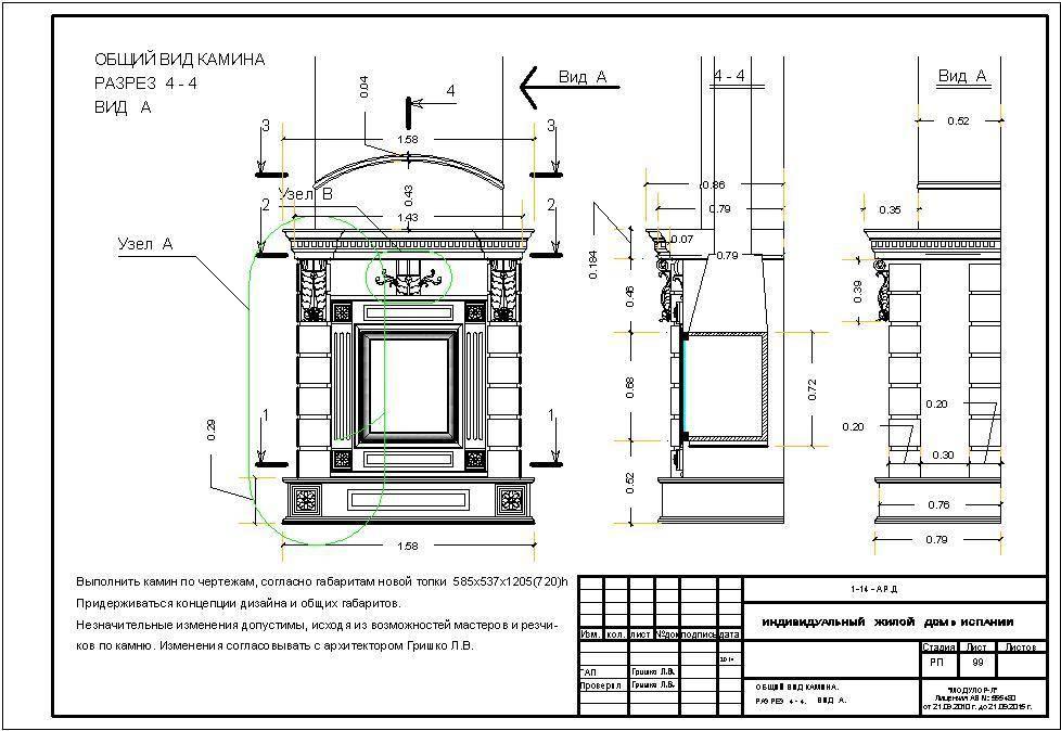 Устройство камина на примере дровяного, чугунного, газового и других аппаратов