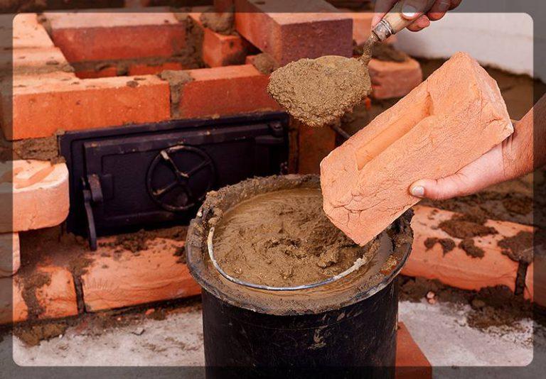 Огнеупорный бетон своими руками: поэтапное приготовление