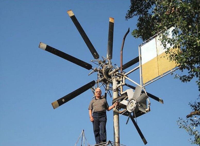 Ветрогенератор простой домашний своими руками