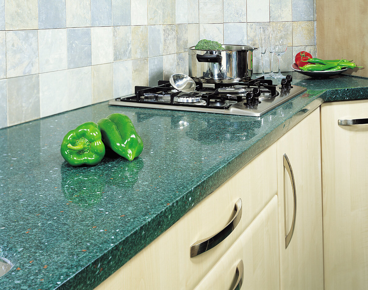 Цветовое решение для кухонной столешницы (реальные фото)