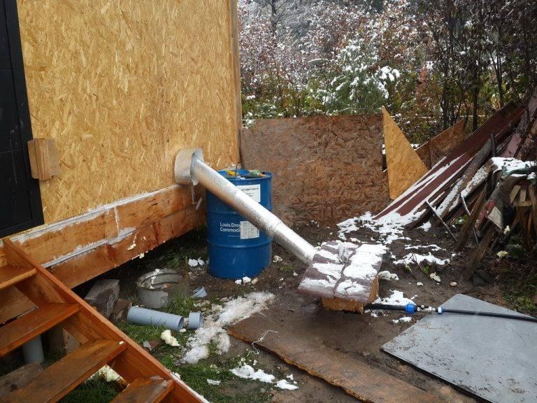 Как утеплить водопроводную трубу на улице: зимний водопровод на даче своими руками