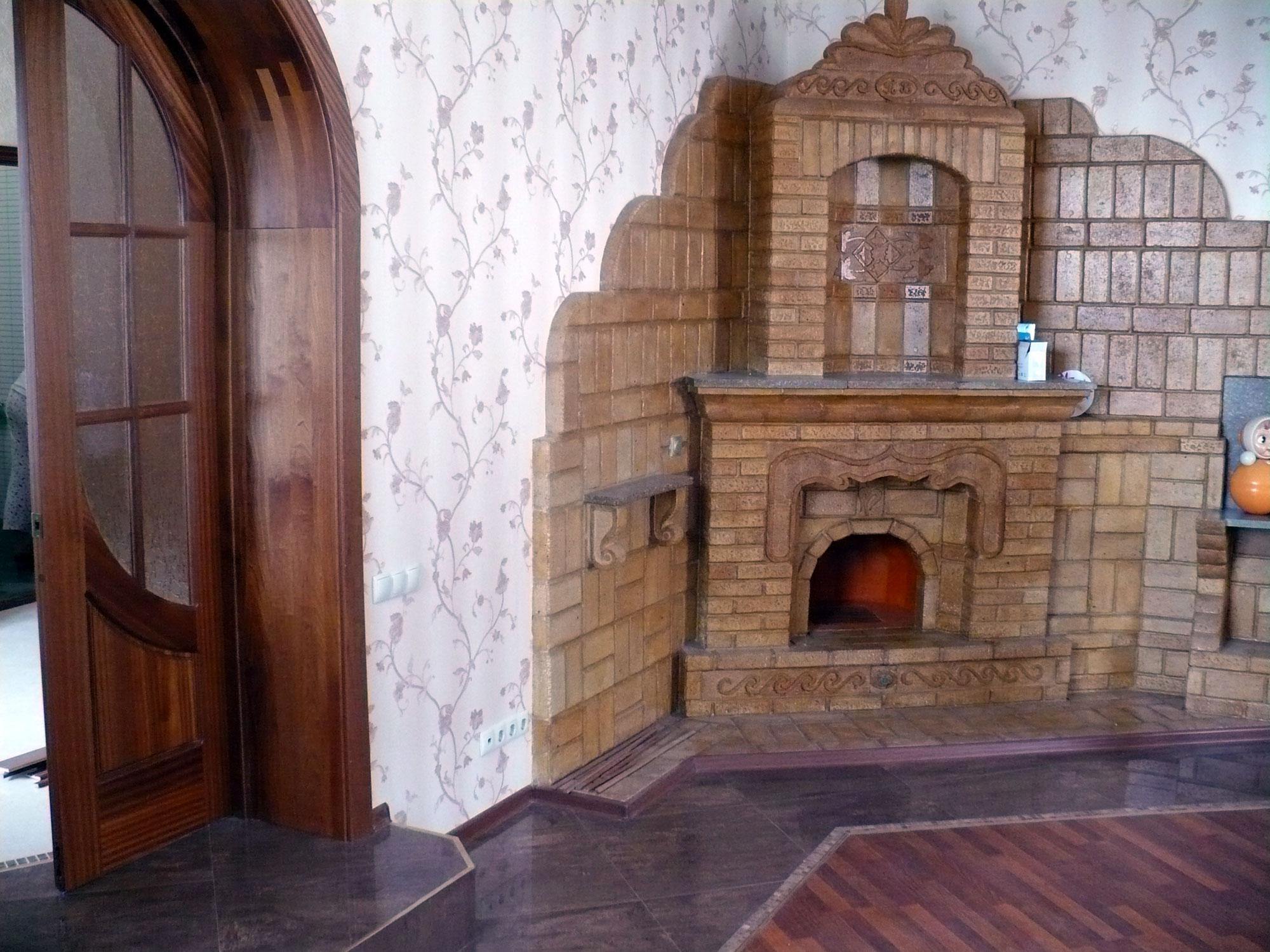 Дизайн печей в частном доме — виды отделки кирпичных и печек. жми!