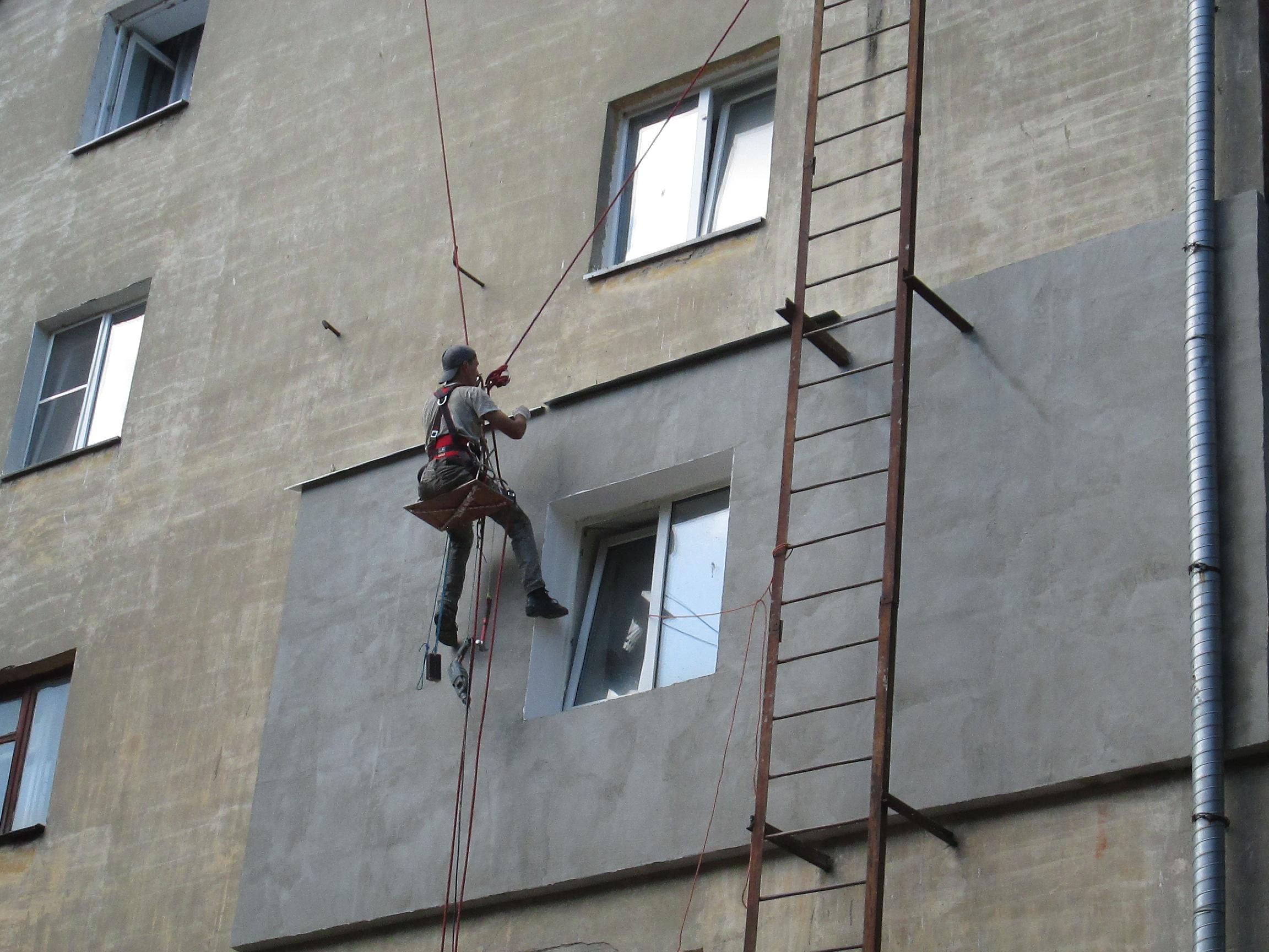 Утепление фасада под ключ в москве — технология мокрый фасад