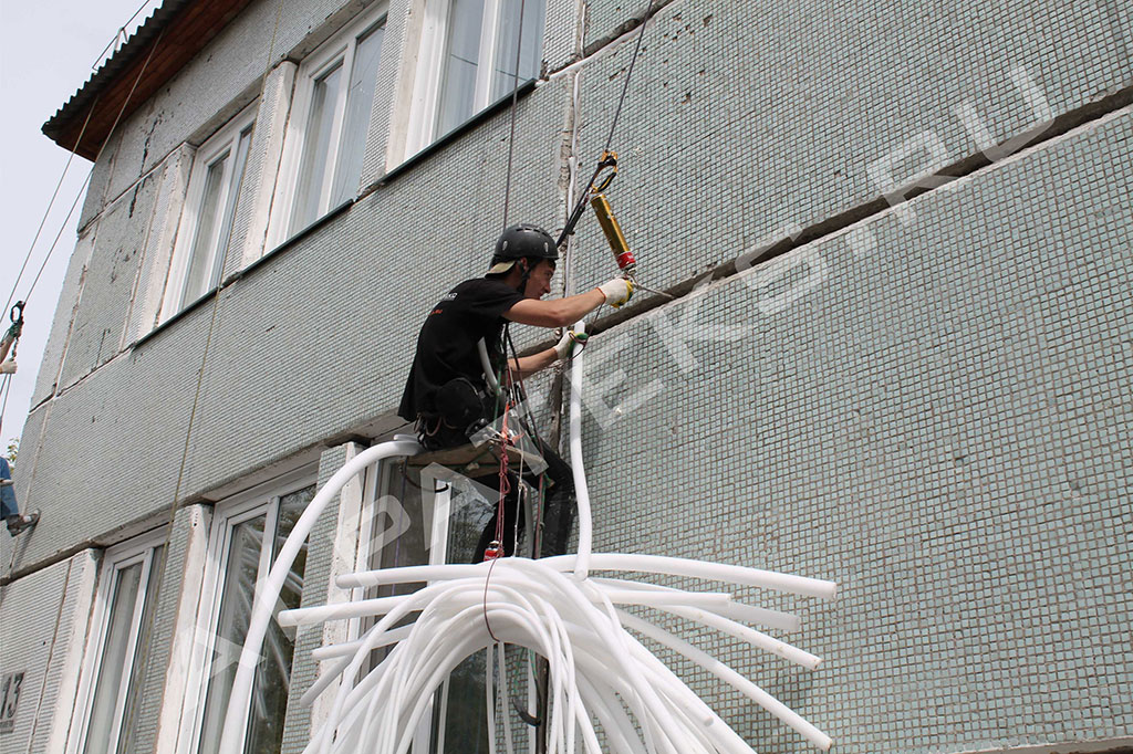 Герметизация межпанельных швов в панельном доме, заделка наружных швов