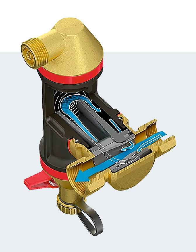 Устройство позволяющее избавить систему отопления сразу от двух напастей: воздуха и шлама - pechiexpert