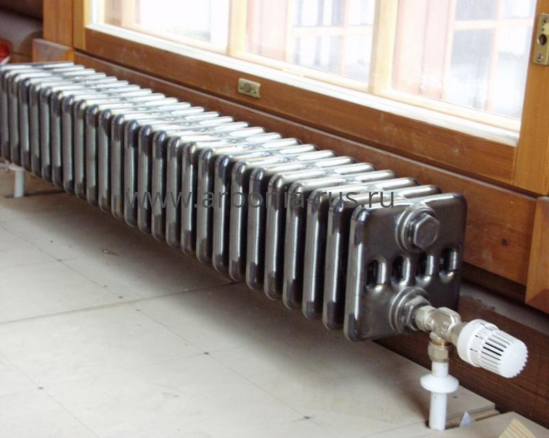 Низкие и длинные радиаторы отопления