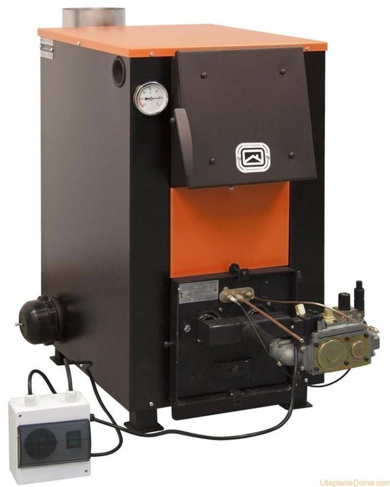 Отопительные комбинированные котлы: дрова, электричество: выбираем котлы для отопления на дровах и электричестве