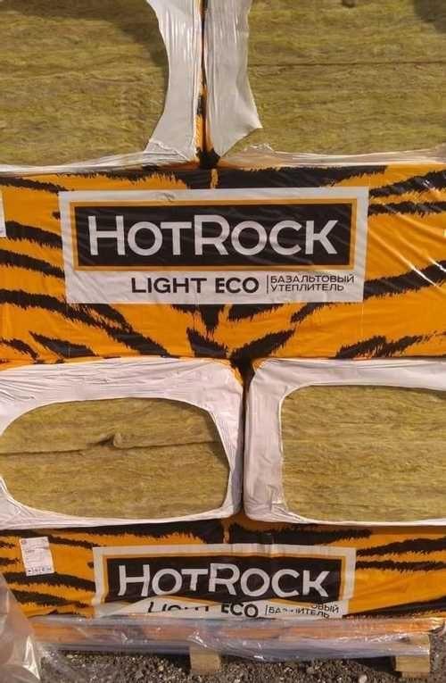 Применение утеплителя hotrock