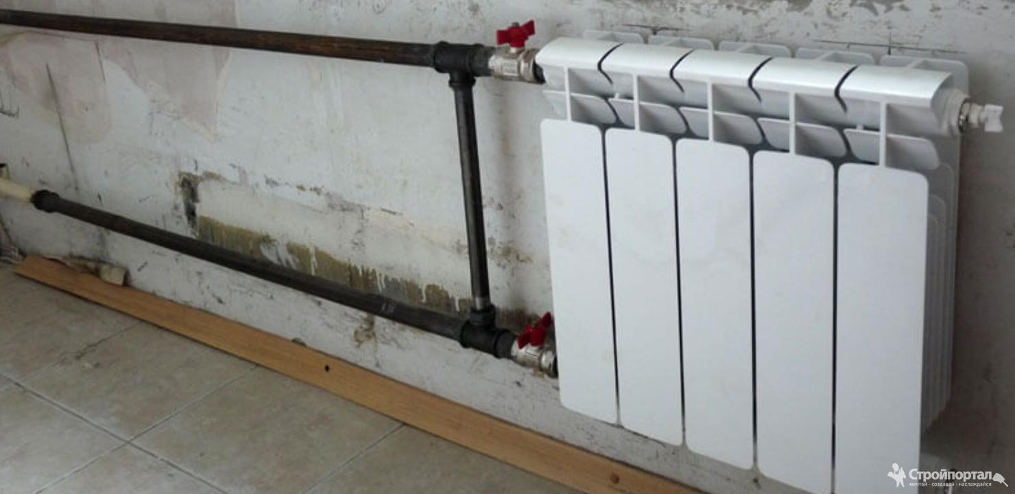 Как выполняется установка батарей отопления – варианты и последовательность монтажа