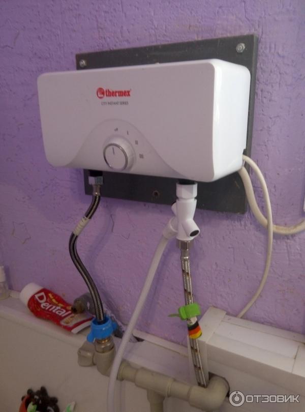 Характеристика электрических проточных водонагревателей термекс