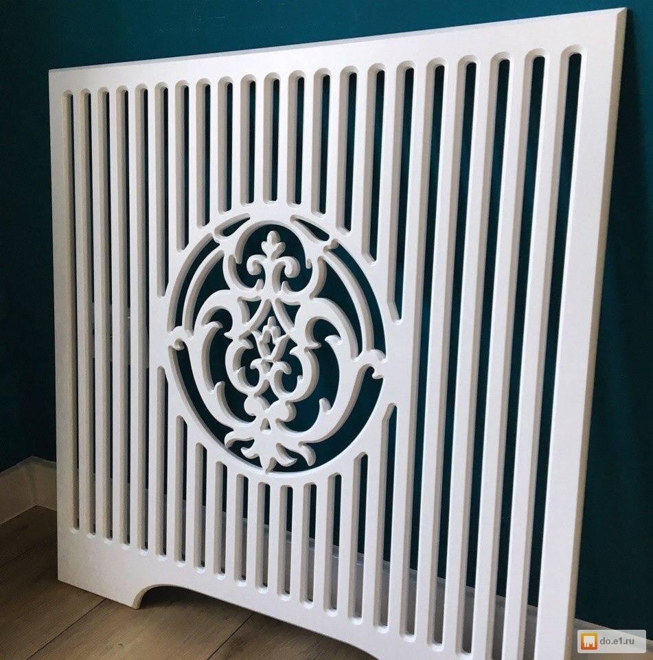 Декоративные решетки на радиаторы отопления: размеры, изготовление своими руками – пошаговая инструкция