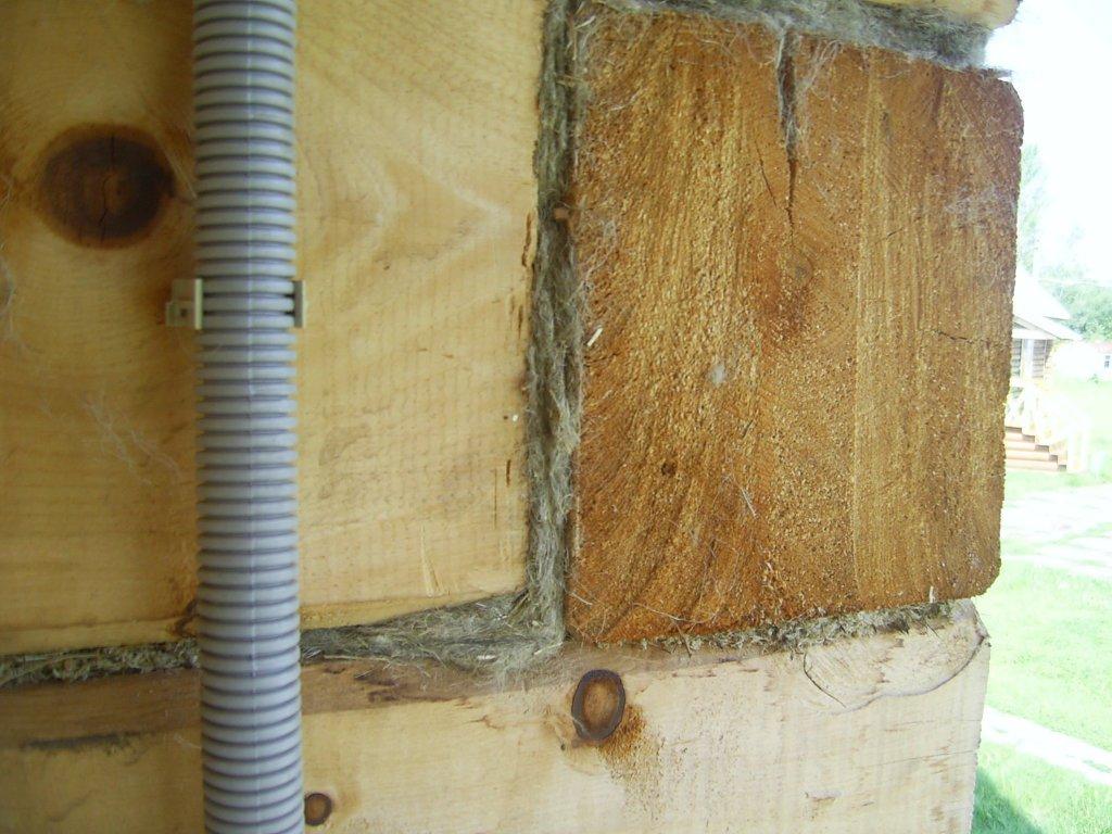 Когда необходимо утеплять углы деревянных домов, и как это делать