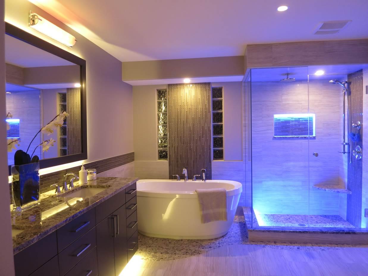 9 советов по освещению ванной комнаты: дизайн, выбор светильников | строительный блог вити петрова