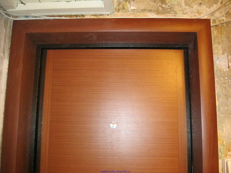 Отделка откосов входной двери изнутри своими руками: варианты установки (фото, видео)