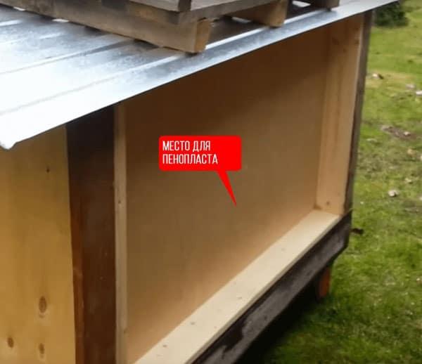 Утепленная будка для собаки: как произвести работы по теплоизоляции своими руками