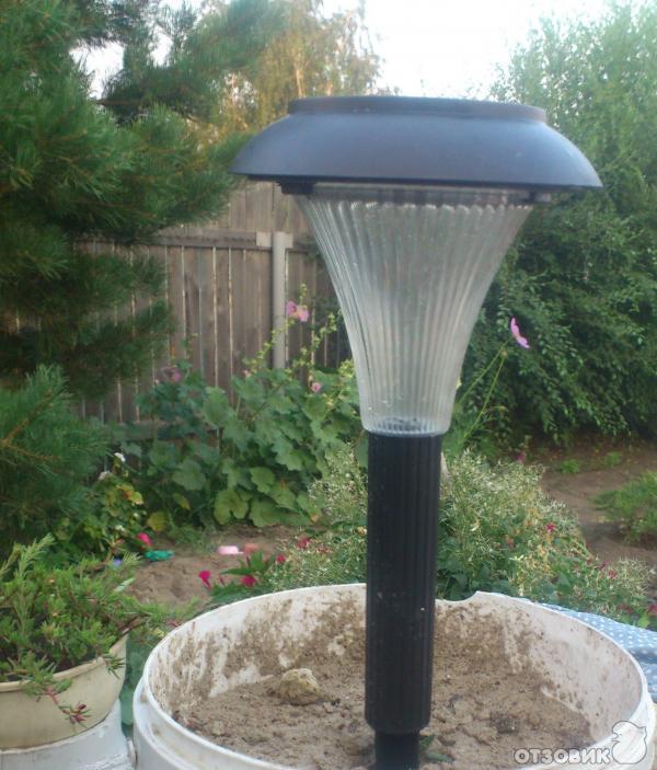 Как сделать садовый светильник от солнечной батареи своими руками