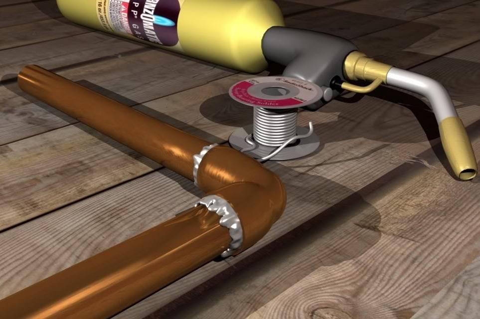 Пайка медных трубок газовой горелкой: полезные советы и этапы самостоятельной пайки