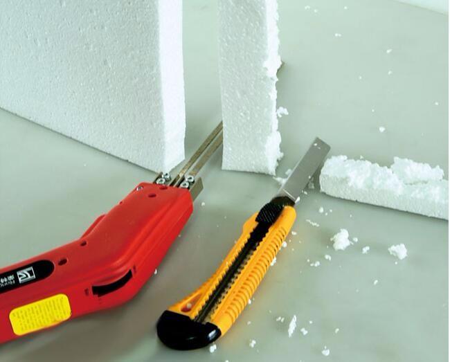 Как разрезать пенопласт чтобы он не крошился, пенополистирол как резать