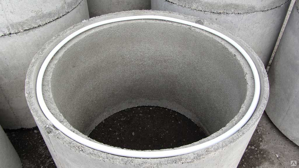 Как заделать швы в колодце из бетонных колец