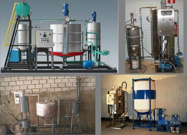 Получение биодизеля промышленными методами - biodiesel.globecore.ru