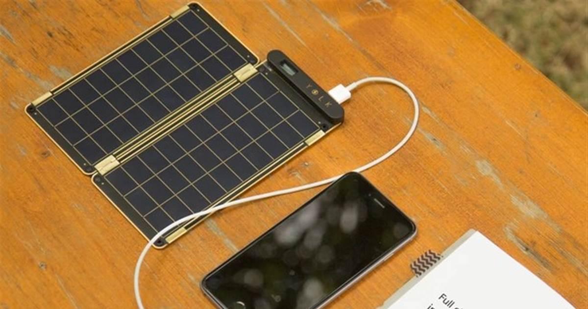 Солнечная энергия: делаем зарядное устройство