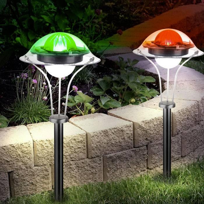 Солнечные светильники: 110 фото лучших современных моделей для наружного освещения