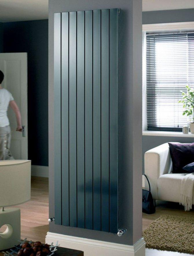 Вертикальные радиаторы отопления для квартиры, какие купить, установка