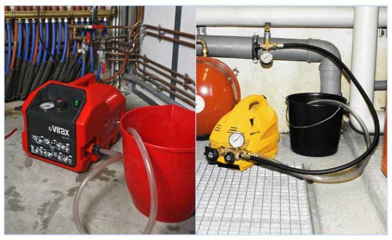 Образец акта опрессовки и промывка системы отопления