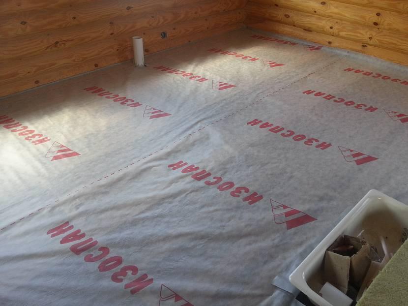 Какой стороной укладывать пароизоляцию к утеплителю: к стене, потолку и полу