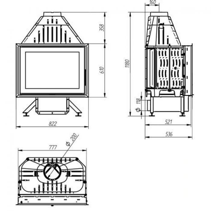 Чугунные камины: основные разновидности, устройство, установка и эксплуатация