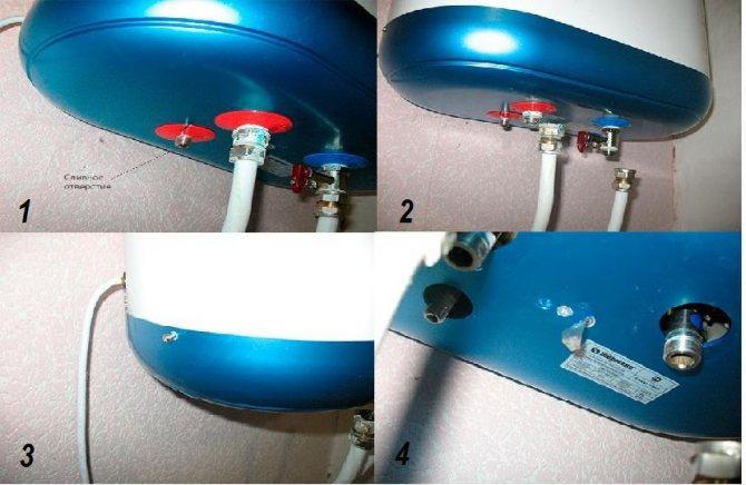 Нужно ли сливать воду с водонагревателя
