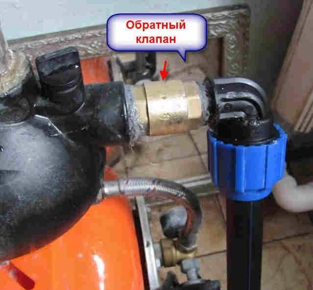Что такое обратный клапан на воду, виды, устройство, где ставить