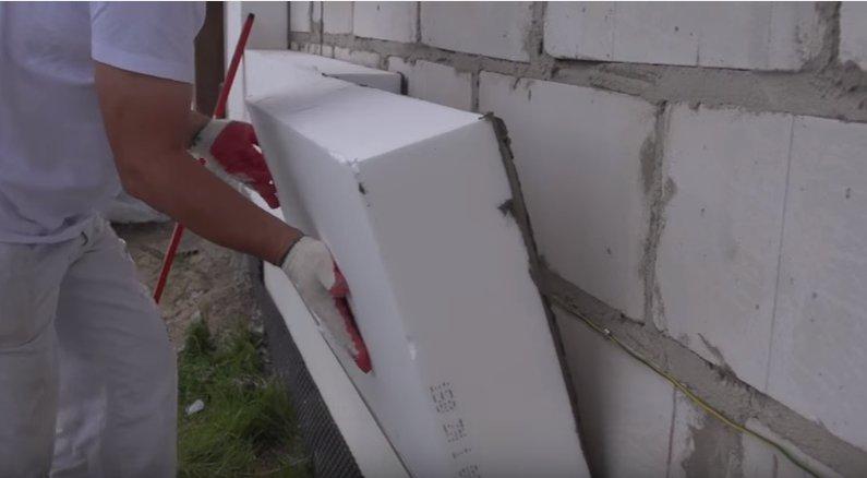 Утепление дома из газобетона снаружи и изнутри – инструкция к применению