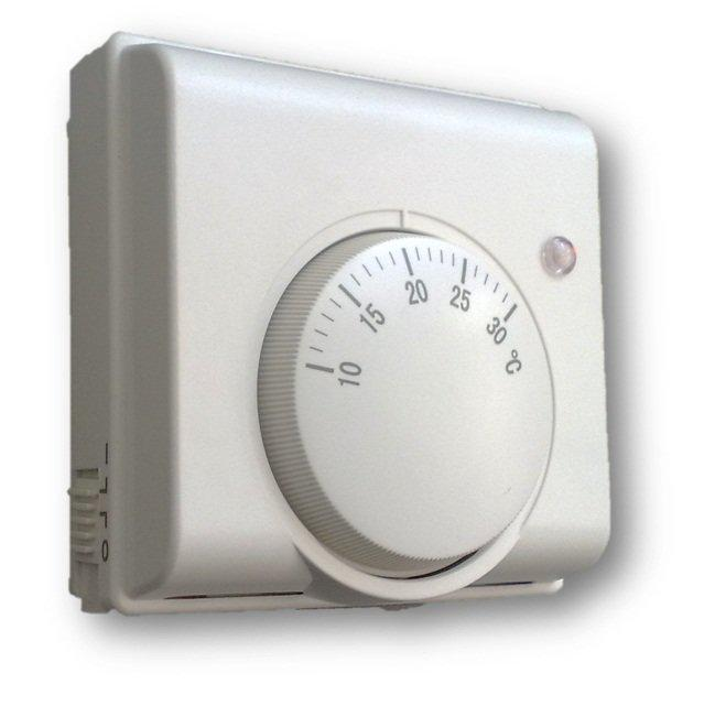 Выбор комнатного терморегулятора для газового котла отопления: виды и установка + фото