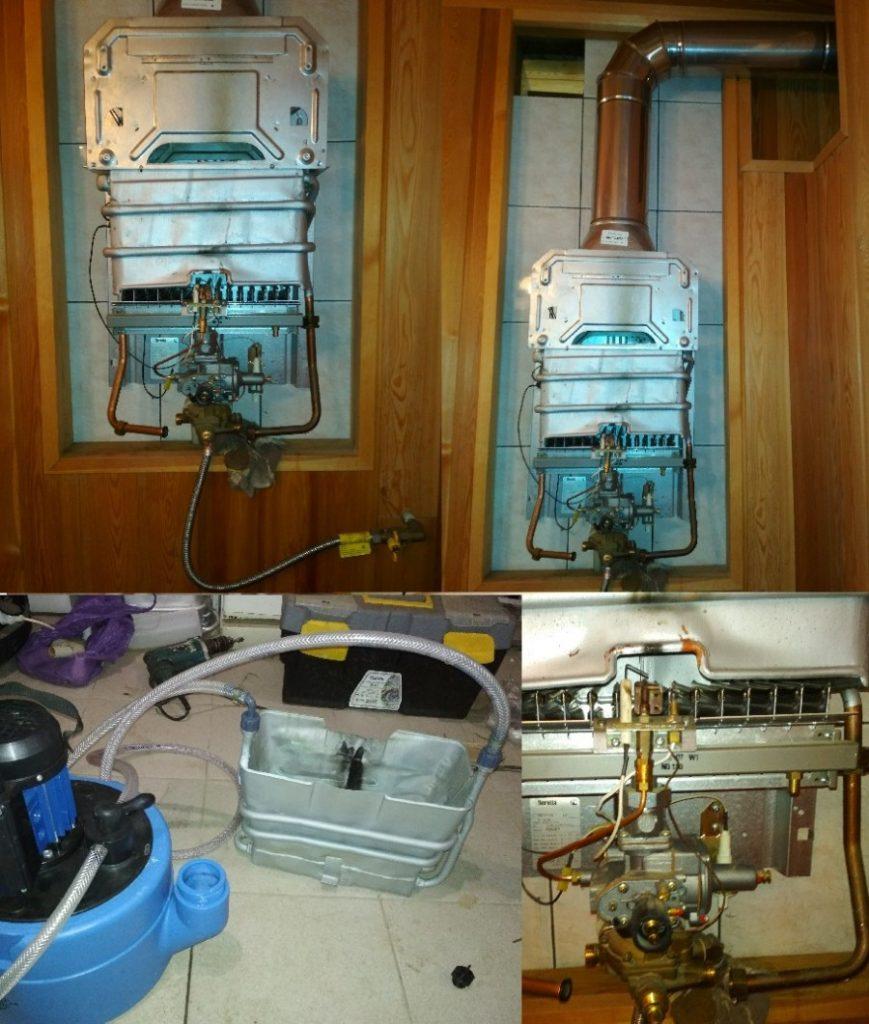 Ремонт теплообменника газовой колонки методом пайки
