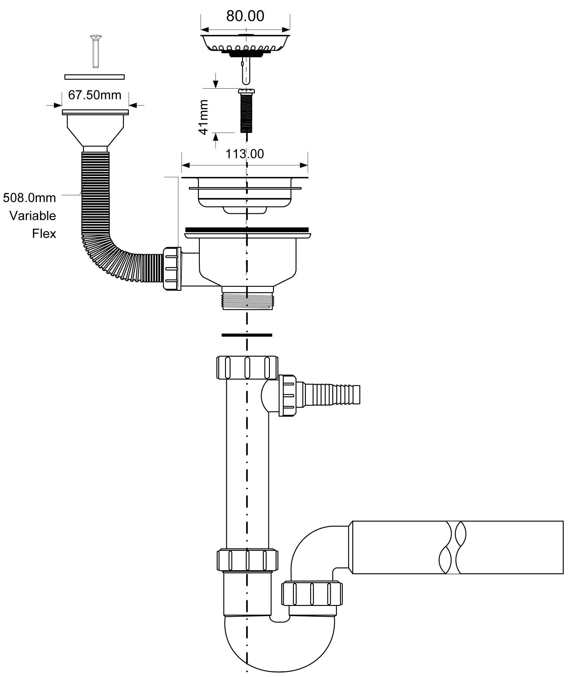 Тонкости процесса установки сифона на кухне